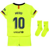 Barcelona Away Stadium Kit 2018-19 - Infants with Messi 10 printing