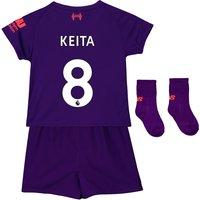 Liverpool Away Baby Kit 2018-19 with Keita  8 printing