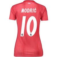 Real Madrid Third Shirt 2018-19 - Womens with Modric 10 printing