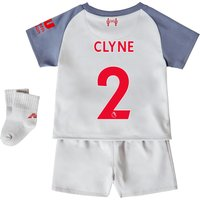 Liverpool Third Baby Kit 2018-19 with Clyne 2 printing