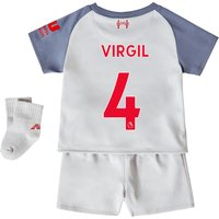 Liverpool Third Baby Kit 2018-19 with Virgil 4 printing