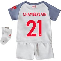 Liverpool Third Baby Kit 2018-19 with Chamberlain 21 printing