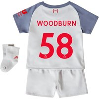 Liverpool Third Baby Kit 2018-19 with Woodburn 58 printing