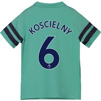 Arsenal Third Shirt 2018-19 - Kids with Koscielny 6 printing