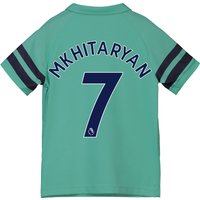 Arsenal Third Shirt 2018-19 - Kids with Mkhitaryan 7 printing