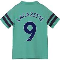 Arsenal Third Shirt 2018-19 - Kids with Lacazette 9 printing