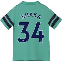 Arsenal Third Shirt 2018-19 - Kids with Xhaka 34 printing