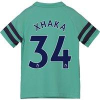 Arsenal Third Shirt 2018-19 - Kids with Xhaka 34 printing