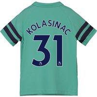 Arsenal Third Shirt 2018-19 - Kids with Kolasinac 31 printing