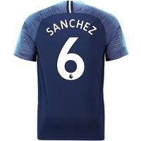 Tottenham Hotspur Away Stadium Shirt 2018-19 With Sánchez 6 Printing