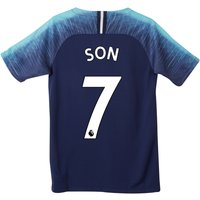 Tottenham Hotspur Away Stadium Shirt 2018-19 - Kids with Son 7 printing