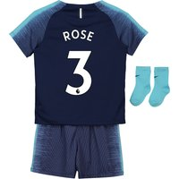 Tottenham Hotspur Away Stadium Kit 2018-19 - Infants with Rose 3 printing