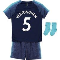 Tottenham Hotspur Away Stadium Kit 2018-19 - Infants with Vertonghen 5 printing