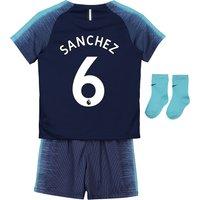 Tottenham Hotspur Away Stadium Kit 2018-19 - Infants with Sánchez 6 printing