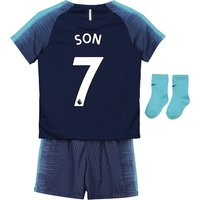Tottenham Hotspur Away Stadium Kit 2018-19 - Infants with Son 7 printing
