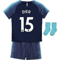 Tottenham Hotspur Away Stadium Kit 2018-19 - Infants with Dier 15 printing