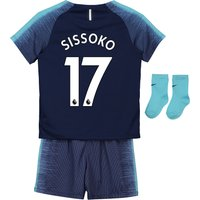 Tottenham Hotspur Away Stadium Kit 2018-19 - Infants with Sissoko 17 printing