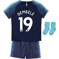 Tottenham Hotspur Away Stadium Kit 2018-19 - Infants with Dembélé 19 printing