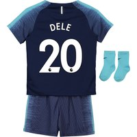 Tottenham Hotspur Away Stadium Kit 2018-19 - Infants with Dele 20 printing