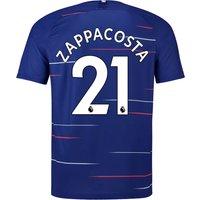 Chelsea Home Stadium Shirt 2018-19 - Kids with Zappacosta 21 printing