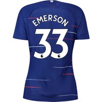 Chelsea Home Stadium Shirt 2018-19 - Womens with Emerson 33 printing