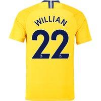 Chelsea Away Stadium Shirt 2018-19 with Willian 22 printing