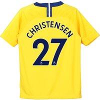 Chelsea Away Stadium Shirt 2018-19 - Kids with Christensen 27 printing