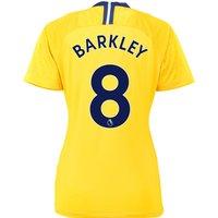 Chelsea Away Stadium Shirt 2018-19 - Womens with Barkley 8 printing