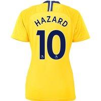 Chelsea Away Stadium Shirt 2018-19 - Womens with Hazard 10 printing