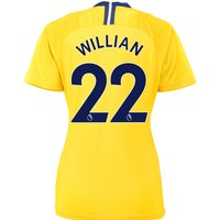 Chelsea Away Stadium Shirt 2018-19 - Womens with Willian 22 printing