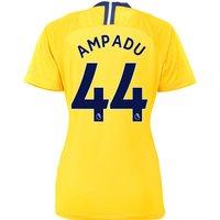 Chelsea Away Stadium Shirt 2018-19 - Womens with Ampadu 44 printing