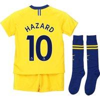 Chelsea Away Stadium Kit 2018-19 - Little Kids with Hazard 10 printing