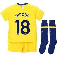 Chelsea Away Stadium Kit 2018-19 - Little Kids with Giroud 18 printing