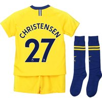 Chelsea Away Stadium Kit 2018-19 - Little Kids with Christensen 27 printing