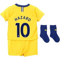 Chelsea Away Stadium Kit 2018-19 - Infants with Hazard 10 printing