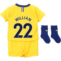 Chelsea Away Stadium Kit 2018-19 - Infants with Willian 22 printing