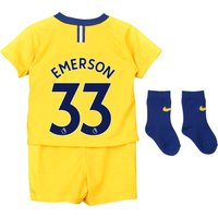 Chelsea Away Stadium Kit 2018-19 - Infants with Emerson 33 printing