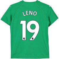 Arsenal Away Goalkeeper Shirt 2018-19 - Kids with Leno 19 printing