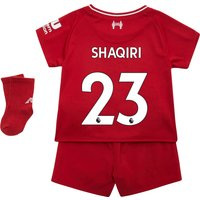 Liverpool Home Baby Kit 2018-19 with Shaqiri 23 printing