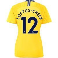 Chelsea Away Stadium Shirt 2018-19 - Womens with Loftus-Cheek 12 printing