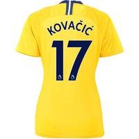 Chelsea Away Stadium Shirt 2018-19 - Womens with Kovacic  17 printing