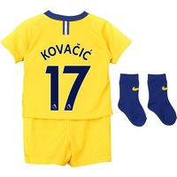 Chelsea Away Stadium Kit 2018-19 - Infants with Kovacic  17 printing