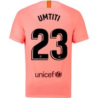 Barcelona Third Vapor Match Shirt 2018-19 with Umtiti 23 printing