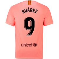 Barcelona Third Stadium Shirt 2018-19 with Suárez 9 printing