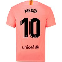 Barcelona Third Stadium Shirt 2018-19 with Messi 10 printing