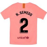 Barcelona Third Stadium Shirt 2018-19 - Kids with N. Semedo 2 printing