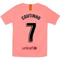 Barcelona Third Stadium Shirt 2018-19 - Kids with Coutinho 7 printing