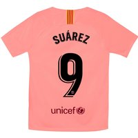 Barcelona Third Stadium Shirt 2018-19 - Kids with Suárez 9 printing