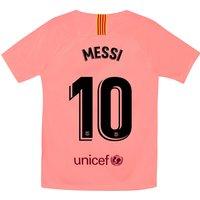 Barcelona Third Stadium Shirt 2018-19 - Kids with Messi 10 printing
