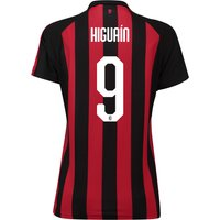 Ac Milan Home Shirt 2018-19 - Womens With Higuaín 9 Printing
